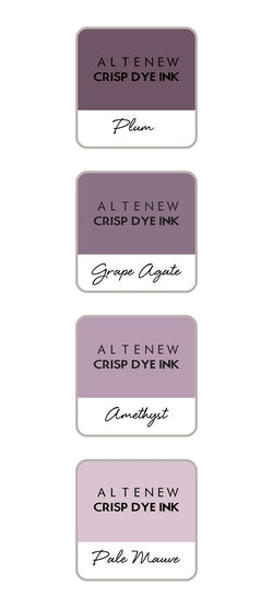 Altenew ink set of 4 - sugarplums