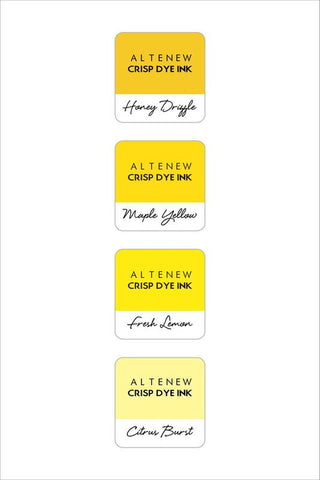 Altenew ink cube set of 4 - Pocketful of sunshine