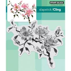 Penny Black cling stamp - Magnolia rhapsody