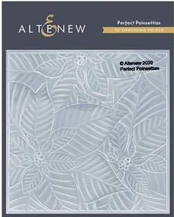 Altenew  - Perfect poinsettias 3D embossing folder