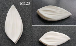 Mould for silk foam and foamiran - M123 -  For leaves or lily petals
