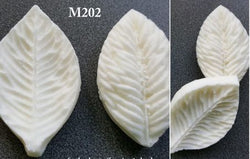 Mould for silk foam and foamiran - Leaf M202 - set of 2