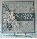 Memory Box Poppystamps - Diamond background die