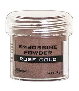 Ranger embossing powder rose gold