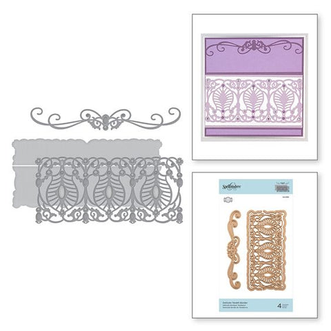 Spellbinders Delicate tendril border