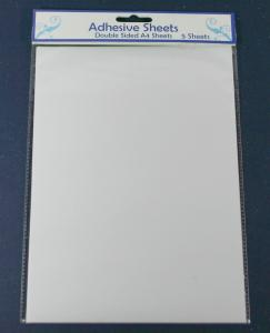Double-sided self-adhesive A4 sheets