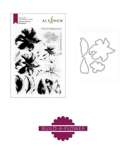 Altenew stargazer lily stamp and die bundle