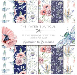 Paper boutique - Summer in Provence paper pack 8x8