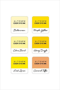 Altenew - Sunflower field ink set of 6