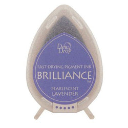 Brilliance dew drop ink pad -  Pearlescent lavender