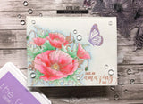 The Ton - Thoughtful poppies - clear stamp