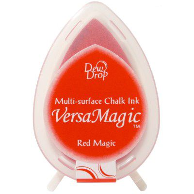 Versamagic dew drop ink pad - Red magic