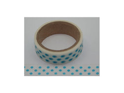 Kcraft washi tape blue neon dots
