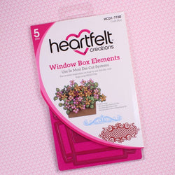 Heartfelt Creations - Window box elements dies