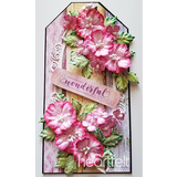 Heartfelt Creations Oakberry Lane blossoms stamp and die set