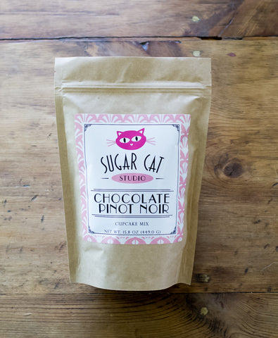 Chocolate Pinot Noir Cupcake Mix