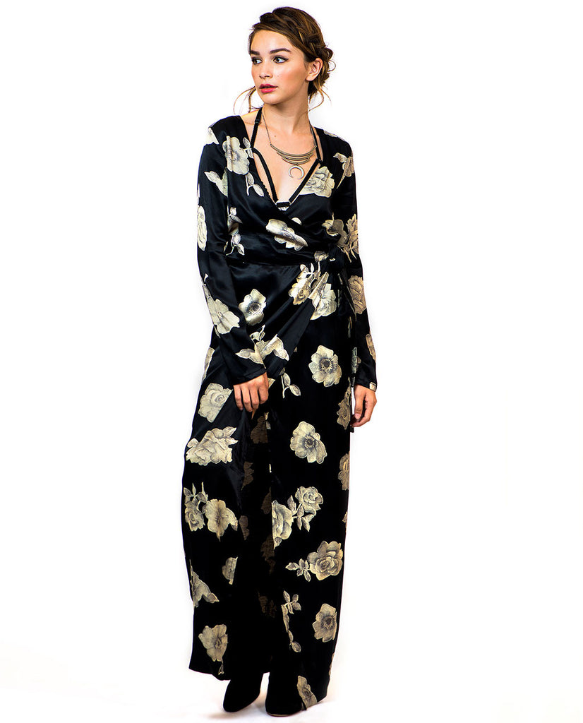 THE BENEDICT WRAP DRESS