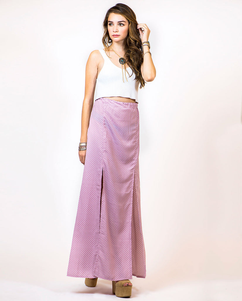 THE SOLSTICE MAXI SKIRT