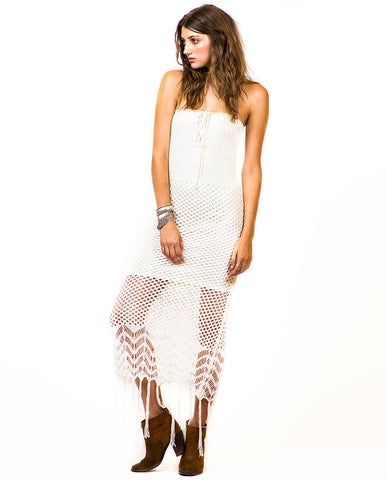 THE SERRANO CROCHET DRESS
