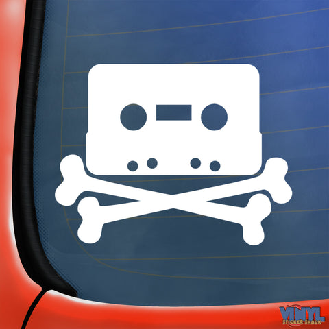 Cassette Bones - Car Sticker