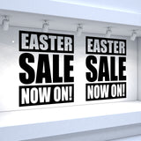 2 x EASTER SALE NOW ON! Retail Window Decals