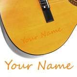 2 x Custom Name Guitar Stickers - Handwriting Style