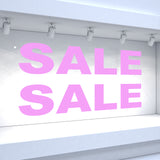 2 x SALE Window Decals - Classic Style