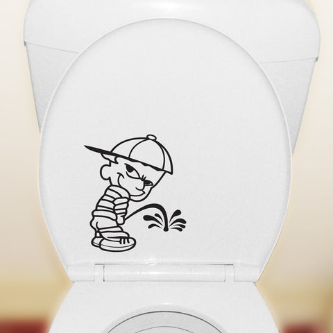 Weeing Boy - Toilet Seat Sticker