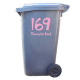 3 x Custom Wheelie Bin Stickers - Cartoon Style