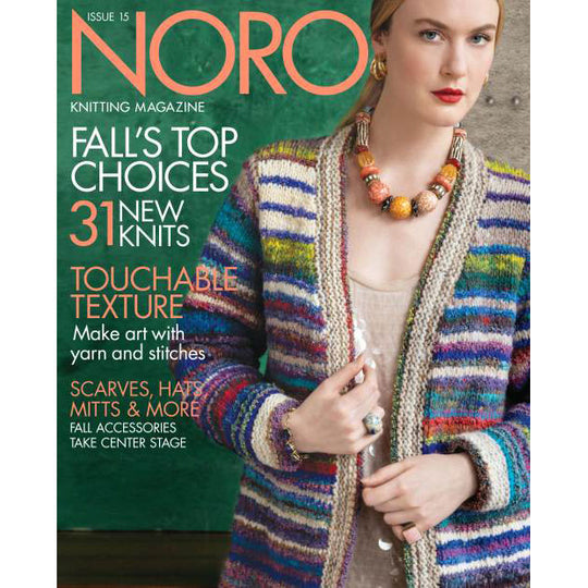 Noro Knitting Magazine Issue 15 - Fall/ Winter 2019