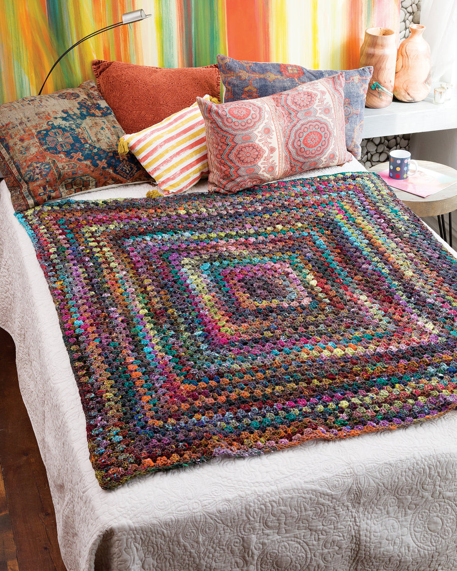 From Noro Magazine Issue 13 - Big Granny Afghan