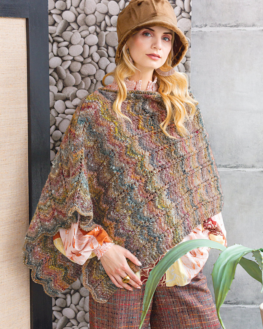 From Noro Magazine Issue 13 - Chevron Wrap