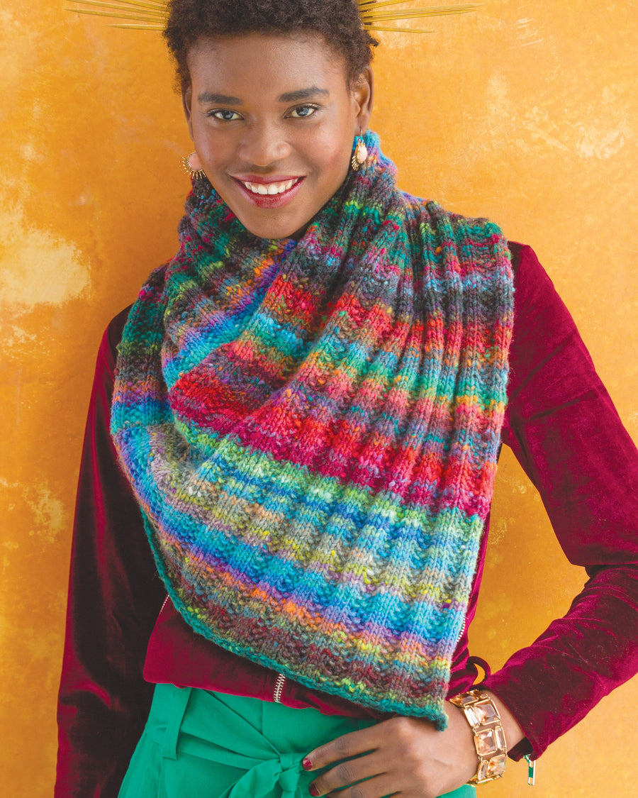 From Noro Magazine Issue 13 - Cowl