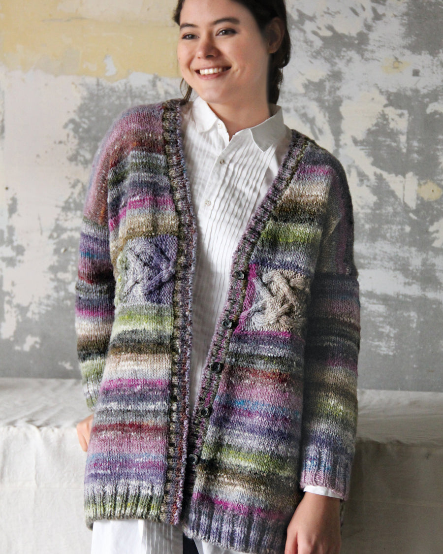 From Noro Magazine Issue 15- Horizontal Cable Cardi