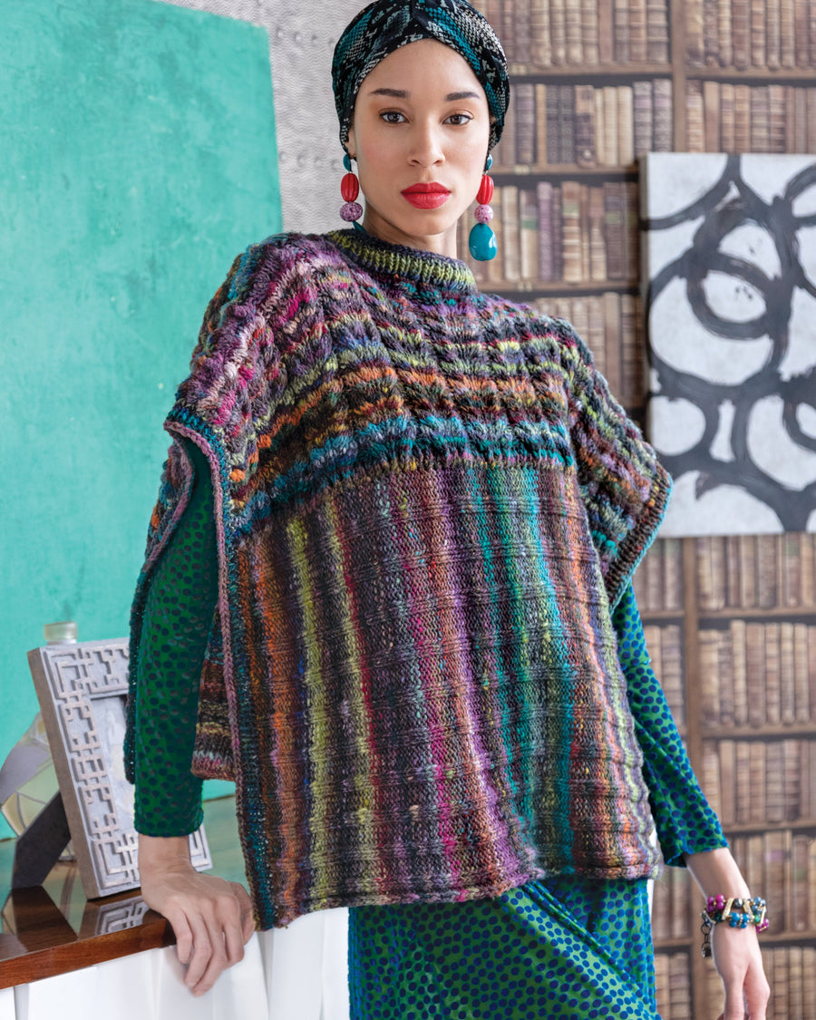From Noro Magazine Issue 15-  - Two Direction Poncho
