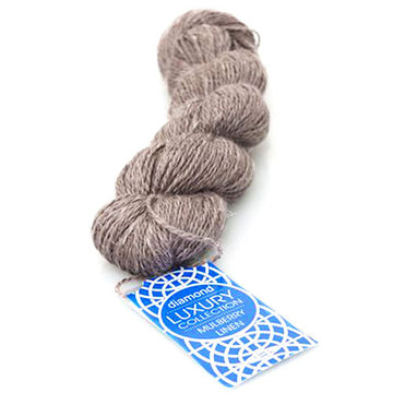 Diamond Luxury - Mulberry Linen Yarn