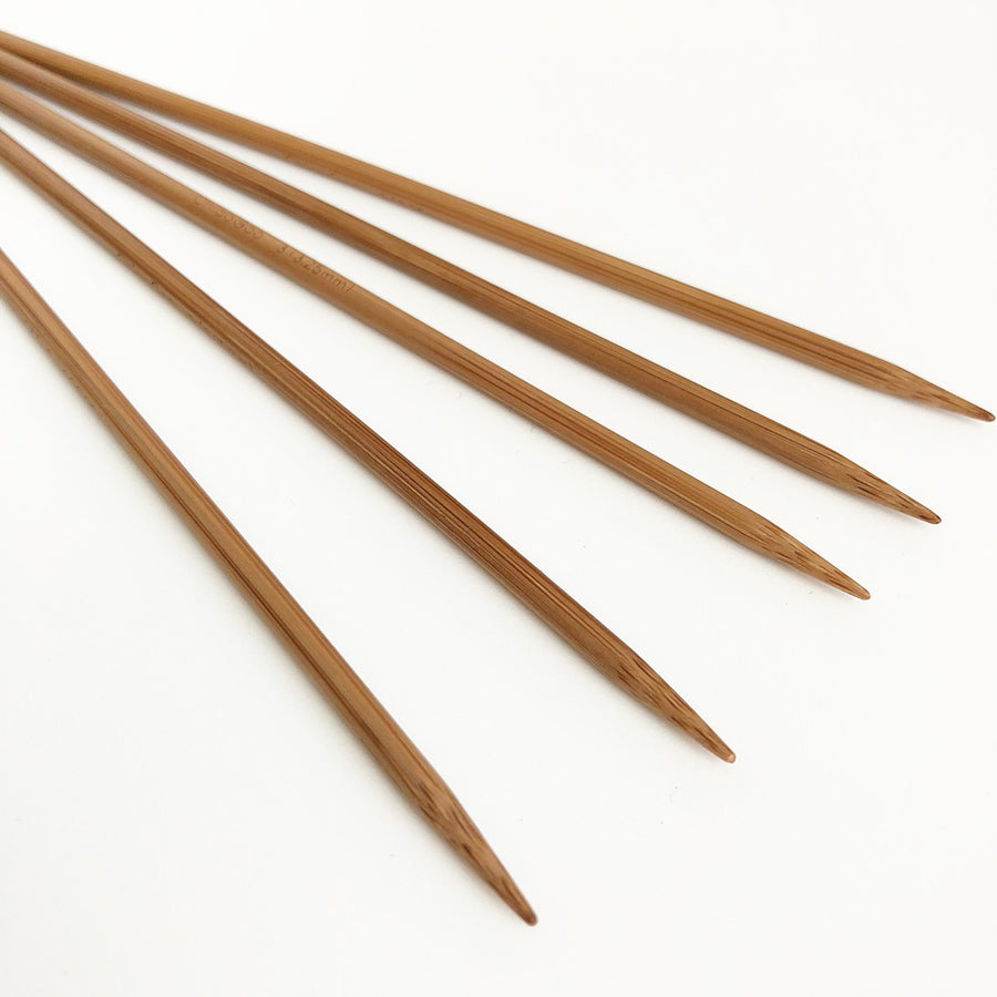 Bamboo Double Pointed Knitting Needles Sock Set 6