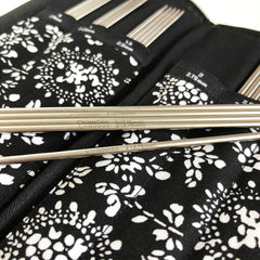 "Double Point Needles Sock Set 6"" (15 cm)- Stainless Steel - ChiaoGoo Details"