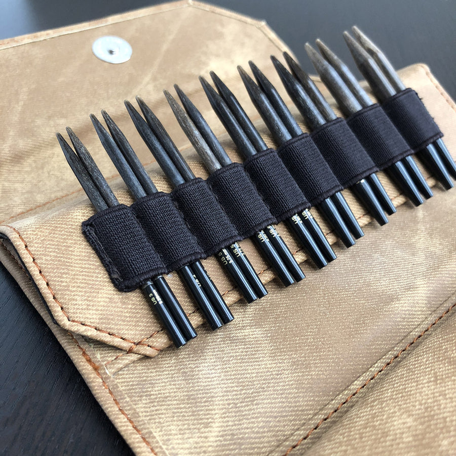 Umber - Interchangeable Circular Knitting Needles Set 3.5