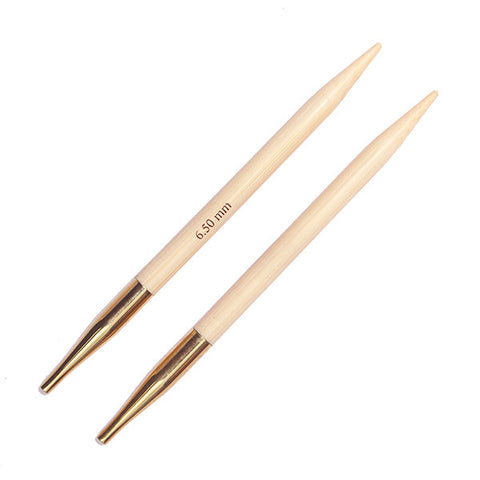 Bamboo - Normal Interchangeable Needle Tips - Knitter's Pride