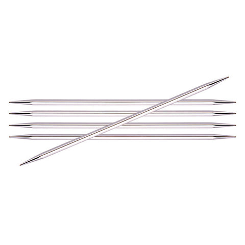 Nova Cubics Platina - Double Pointed Needles 15 cm (6