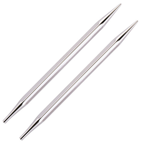 Nova Cubics Platina - Normal Interchangeable Needle Tips - Knitter's Pride