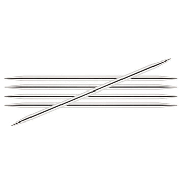 Nova Platina - Double Pointed Needles 8