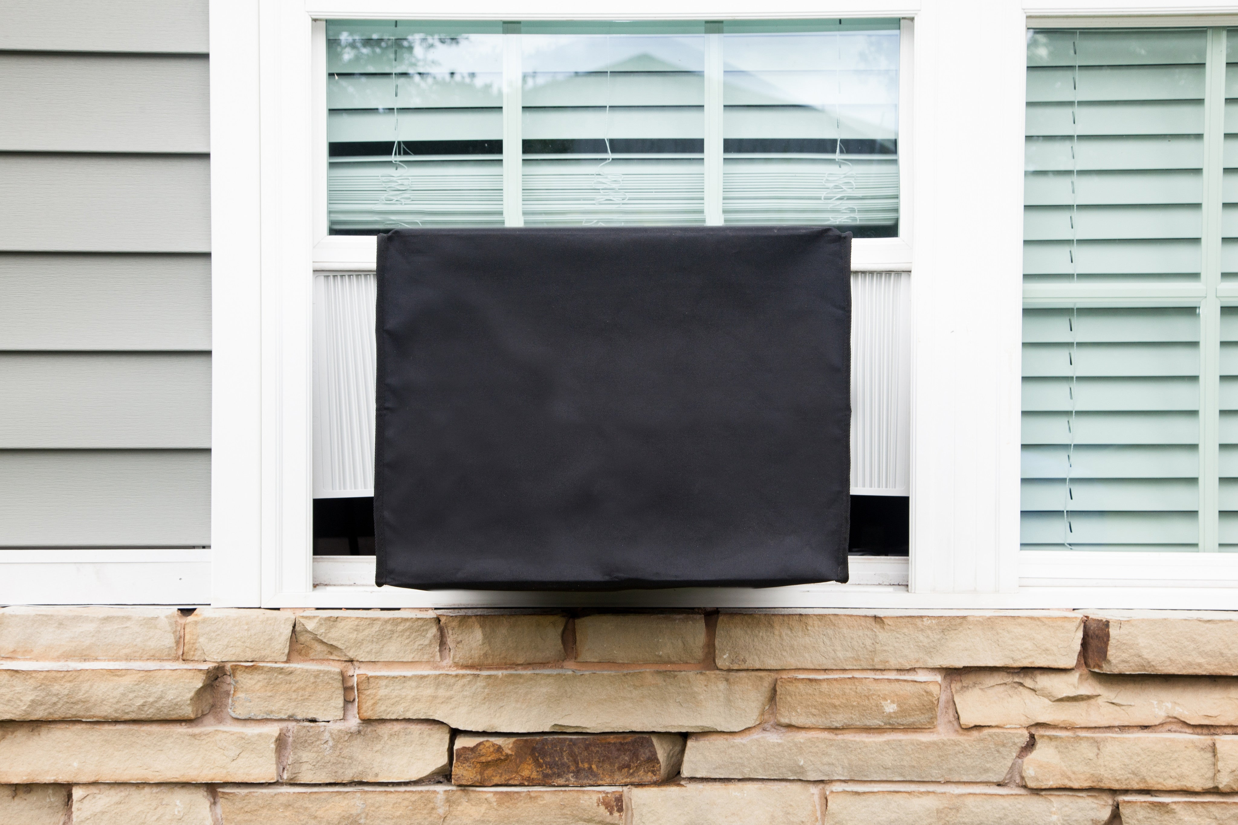 Sturdy Covers AC Defender Window Unit Winter Cover Black