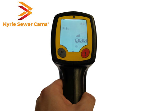 Digital 512hz sonde locator for Kyrie Sewer Cameras