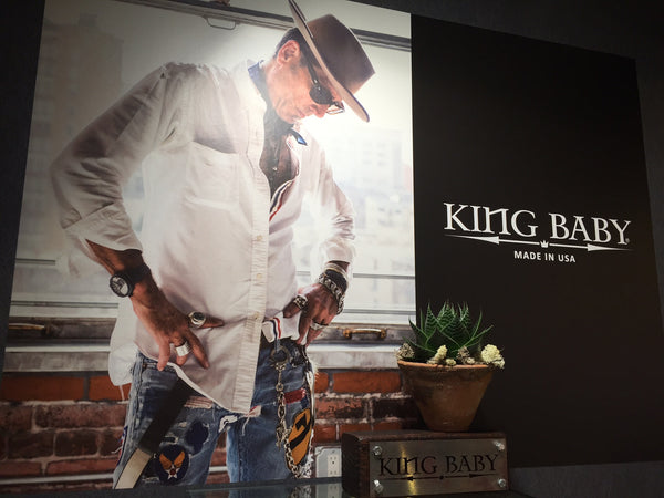KING BABY, ON THE ROAD AT BASELWORLD 16