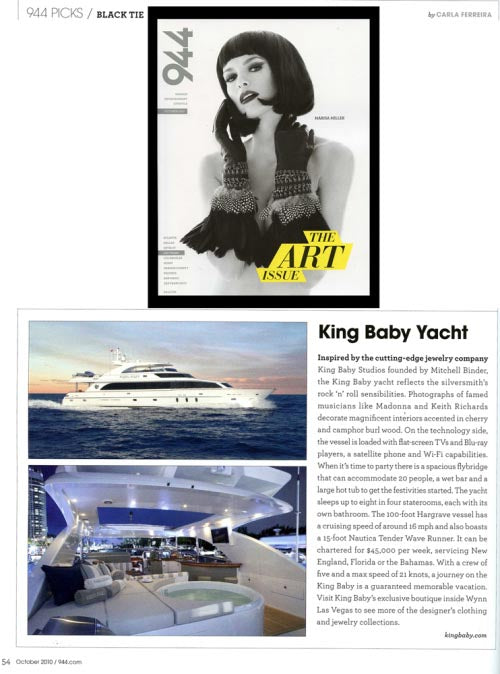 Bon Voyage! Set sail with King Baby!