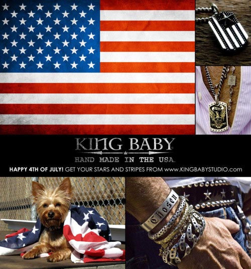 STARS & STRIPES, SPARKLERS, AND KING BABY FOREVER!
