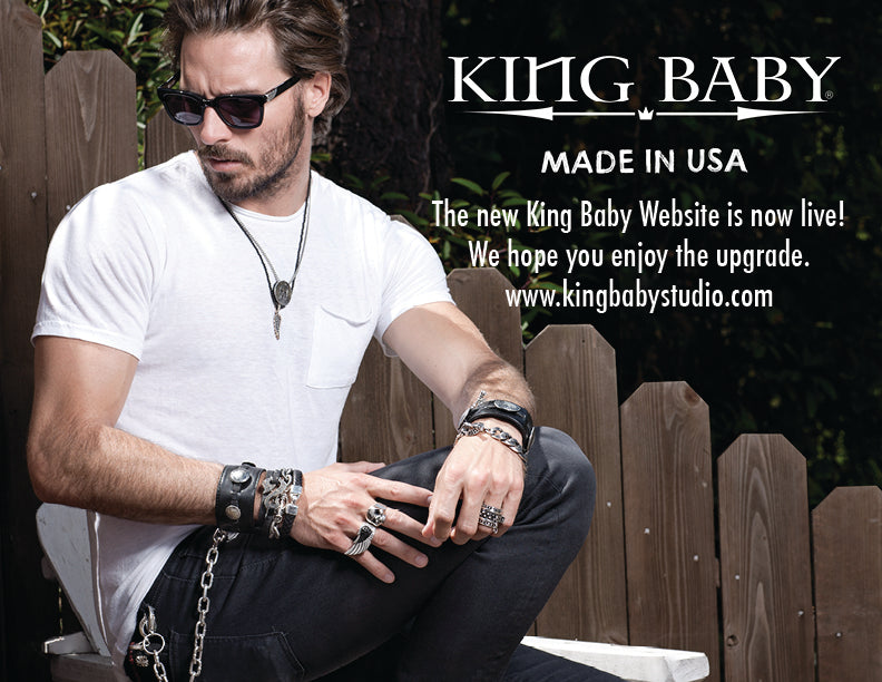 The New King Baby Website is now Live