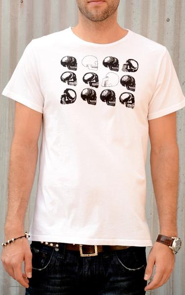 Skull Stacking Graphic Tee